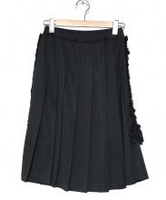 COMME des GARCONS COMME des GARCONS(コムデギャルソン コムデギャルソン)の古着「フリルプリーツスカート」
