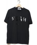 MSGM(エムエスジーエム)の古着「Tシャツ」 ブラック