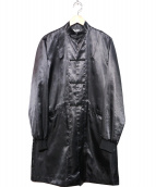 BLACK COMME des GARCONS(ブラックコムデギャルソン)の古着「バックプリントチャイナコート」