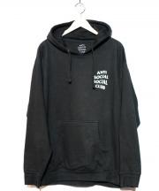 ANTI SOCIAL SOCIAL CLUB(アンチソーシャルソーシャルクラブ)の古着「バックロゴプルオーバーパーカー」