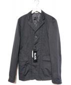 BLACK COMME des GARCONS(ブラックコムデギャルソン)の古着「フロントデザインジャケット」