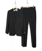 N.HOOLYWOOD(エヌハリウッド)の古着「セットアップスーツ」 ブラック