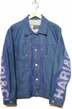 CHARI & CO NYC(チャリアンドコー)の古着「DENIM MESH JKT」