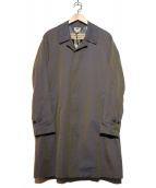 BURBERRY(バーバリー)の古着「ステンカラーコート」|グレー