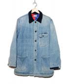 BLUE BLUE(ブルーブルー)の古着「キルティングカバーオール」|インディゴ