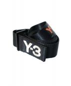 Y-3(ワイスリー)の古着「ベルト」|ブラック