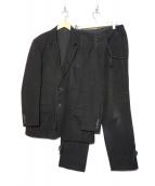 YohjiYamamoto pour homme(ヨウジヤマモト プールオム)の古着「セットアップ」 ブラック