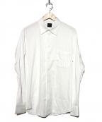 YOHJI YAMAMOTO COSTUME DHOMME(ヨウジヤマモトコスチュームドオム)の古着「コットンシャツ」|ホワイト