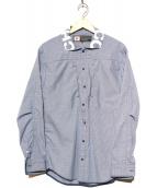 CHARI & CO NYC(チャリアンドコー)の古着「スナップボタンジャケット」 ブルー