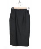BOTTEGA VENETA(ボッテガベネタ)の古着「タイトスカート」|ブラック