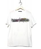 LOUIS VUITTON(ルイ・ヴィトン)の古着「スパイラルバックプリントTシャツ」|ホワイト