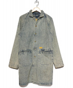 NATAL DESIGN(ネイタルデザイン)の古着「ショップデニムコート」 インディゴ