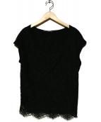 DOLCE & GABBANA(ドルチェアンドガッバーナ)の古着「ブラウス」|ブラック