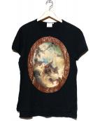 Vivienne Westwood(ヴィヴィアン・ウエストウッド)の古着「プリントカットソー」|ブラック