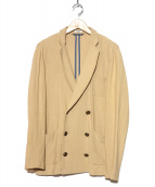 KRAB(クラブ)の古着「ニットジャケット」|ベージュ