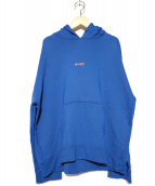 M+RC NOIR(マルシェノア)の古着「プルオーバーパーカー」 ブルー