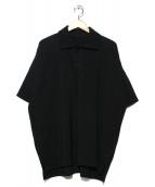 HOMME PLISSE ISSEY MIYAKE(オム プリッセ イッセイ ミヤケ)の古着「プリーツポロシャツ」