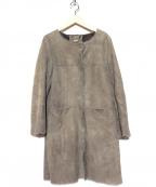 OWEN BARRY(オーエンバリー)の古着「ムートンコート」|グレー