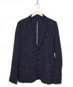 HARRIS WHARF LONDON(ハリスワーフロンドン)の古着「スウェットジャケット」|ネイビー