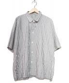 HEALTH(ヘルス)の古着「ストライプシャツ」|ホワイト