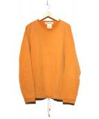 REMI RELIEF(レミレリーフ)の古着「スウェット」|オレンジ