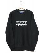 KNOW WAVE(ノーウェーブ)の古着「フロントロゴスウェット」|ブラック