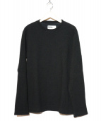 MHL.(エムエイチエル)の古着「クルーネックニット」|ブラック