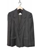 Martin Margiela(マルタンマジェイラ)の古着「テーラードジャケット」|グレー