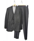 BURBERRY BLACK LABEL(バーバリーブラックレーベル)の古着「3Pセットアップスーツ」|グレー