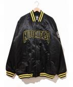 NITRAID(ナイトレイド)の古着「サテンコーチスタジャン」 ブラック