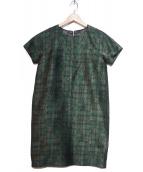 DAMA collection(ダーマコレクション)の古着「総柄ワンピース」|グレー