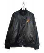 JORDAN(ジョーダン)の古着「スタジャン」|ブラック