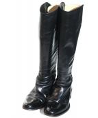 SARTORE(サルトル)の古着「ロングブーツ」|ブラック