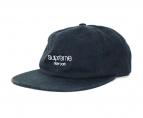 Supreme(シュプリーム)の古着「Napped Canvas Classic LOGO CAP」 ネイビー