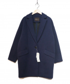 Droite lautreamont(ドロワットロートレアモン)の古着「ボンディングコート」|ネイビー