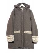 EEL(イール)の古着「ディファレントコート」 ブラウン