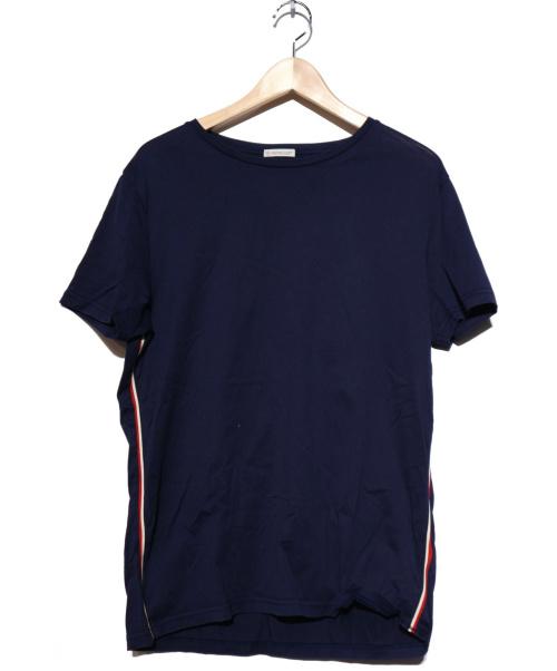 MONCLER(モンクレール)MONCLER (モンクレール) カットソー ネイビー サイズ:Lの古着・服飾アイテム