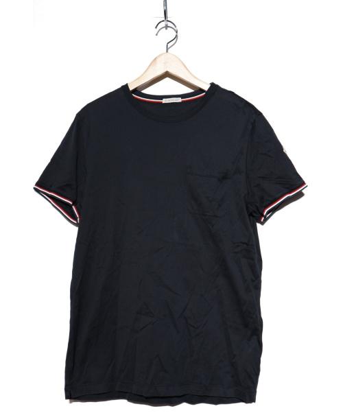 MONCLER(モンクレール)MONCLER (モンクレール) ポケットカットソー ネイビー サイズ:Lの古着・服飾アイテム
