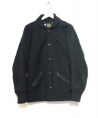 SKOOKUM(スクーカム)の古着「ウールスタジャン」|ブラック