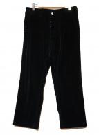 SASSAFRAS(ササフラス)の古着「コーデュロイワイドパンツ」|ネイビー