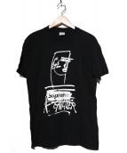Supreme × Jean Paul Gaultier(シュプリーム × ジャンポールゴルチエ)の古着「Tシャツ」|ブラック