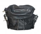 ALEXANDER WANG(アレキサンダーワン)の古着「ラムレザー3WAYバッグ」|ブラック