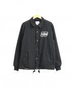 X-LARGE()の古着「キャンバスコーチジャケット」|ブラック