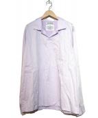 ttt-msw(ティー)の古着「プルオーバーシャツ」|スカイブルー