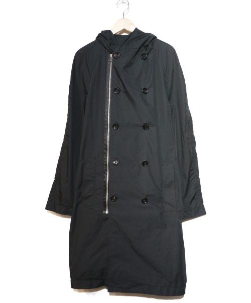 KNOTT(ノット)KNOTT (ノット) フーデッドコート ブラック サイズ:3の古着・服飾アイテム