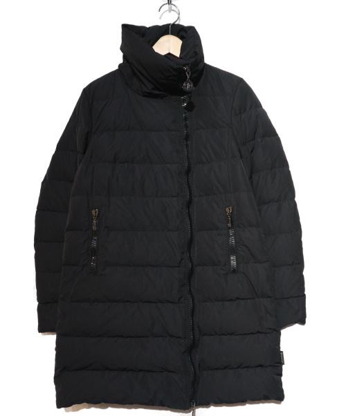 MONCLER(モンクレール)MONCLER (モンクレール) ダウンコート ブラック サイズ:1の古着・服飾アイテム