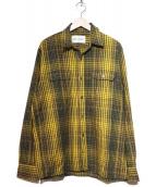 OUR LEGACY(アワーレガシー)の古着「チェックシャツ」|イエロー