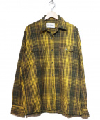 OUR LEGACY(アワーレガシー)の古着「チェックシャツ」 イエロー