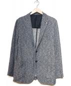 TAGLIATORE(タリアトーレ)の古着「シングル2Bジャケット」|ネイビー
