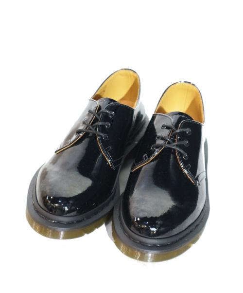 Dr.Martens(ドクターマーチン)Dr.Martens (ドクターマーチン) 別注3ホールパテントシューズ ブラック サイズ:UK5 未使用品 1461Bの古着・服飾アイテム